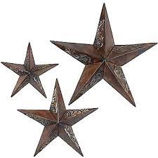 wall arts star wall art decor metal good look stars wooden starfish
