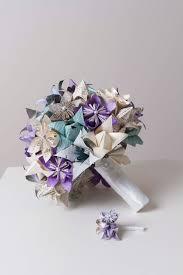 Paper Origami Flower Bouquet Origami Bridal Bouquet Paper Flower Bouquet Harry Potter Etsy