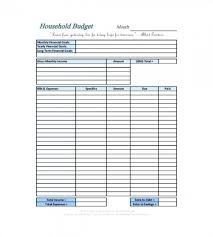 Sample Monthly Household Budget Simple Monthly Family Budget Template Simple Bud Template Printable