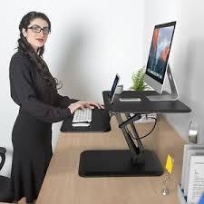 adjustable standing desk converter. Simple Converter Image Is Loading SLYPNOSHeightAdjustableStandingDeskConverterSitTo Inside Adjustable Standing Desk Converter I