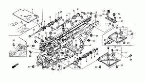 1999 honda fourtrax foreman 450 es trx450 frame parts best oem 4x4 Foreman 2001 Carburetor 450 Honda at 2001 Honda Foreman 450 Es Wiring Diagram