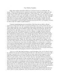 cover letter example of contrast essay example of compare contrast cover letter comparison and contrast essay examples comparison sample compare essays for middle school xexample of