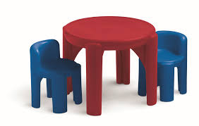 Little Tikes Bedroom Furniture Little Tikes Table And Chairs Set Primary Colors By Oj Commerce