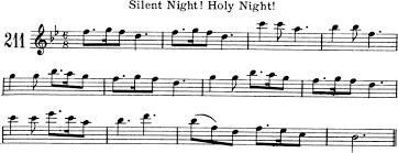 sheet music silent night silent night free violin sheet music