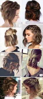 Cute hairstyles for short hair pinterest