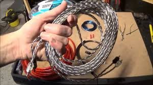 scosche 1200 watt amp wiring kit from wal mart review