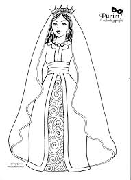 Small Picture Esther this page has great coloring pages for Purim Celebrate