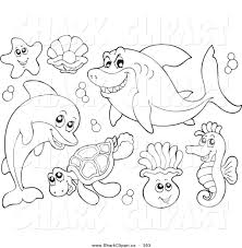 Awesome Sea Life Coloring Pages Printable Sea Animals Coloring Pages