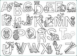 Free Alphabet Coloring Pages For Kindergarten Alphabet Coloring