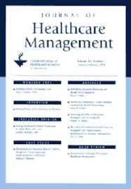 Journal Of Healthcare Management Wikipedia