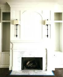 amazing white fireplace mantel surround molding decorating idea shelf uk decor with stone image brick