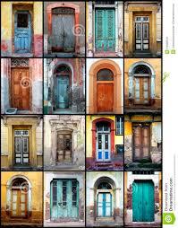 Old Doors Old Doors Stock Photo Image 14898640