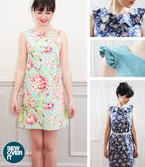 Sew Over It Patterns Stunning Sew Over It Ultimate Shift Dress Pattern Gorgeous