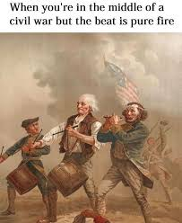 classical art memes and tag the flag