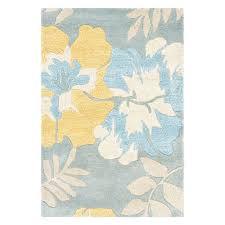 blue and yellow area rug 90 best home living room rug images on indoor outdoor