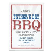 Barbeque Invitation Father S Day Barbeque Invitations