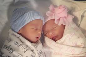 Image result for twin babies boy and girl