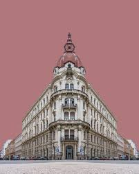 Symmetrical and Surreal Budapest Buildings