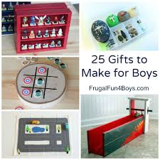 25 gifts to make for boys homemade gift ideas that boys will go for