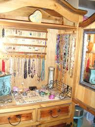 diy jewelry armoire as jewelry cabinet awesome diy over the door jewelry armoire