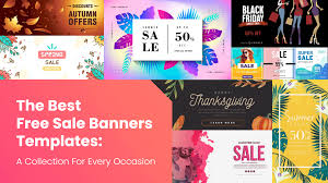 Photos Templates Free The Best Free Sale Banners Templates A Collection For Every