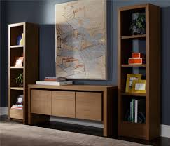 contemporary media console furniture. Contemporary Media Console Home Theater With Bookshelves Clean Media. Image By: LOFThomecom Furniture