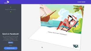Ecard Design Software How To Post An Ecard To Facebook Tridivi