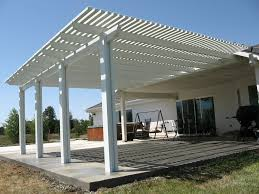 Free Standing Patio Cover Designs Backyard Shade Solutions Diy