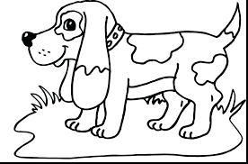 Free Coloring Pages Dogs Iifmalumniorg