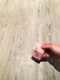 how to clean floor glue and heavy dirt off of luxury vinyl flooring