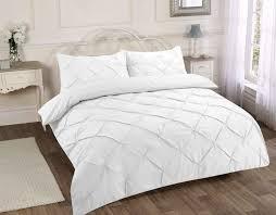 duvet covers 33 super cool white pintuck duvet cover polycotton set e home target queen