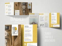 Babili 3 Trifold Brochure By Studio Dot On Dribbble