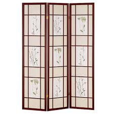 home decorators collection  ft cherry panel room divider