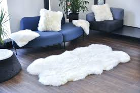 white sheepskin rug natural rugs throws 4x6