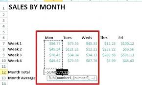 Creating Formulas In Excel 2013 How To Create Formulas In Excel
