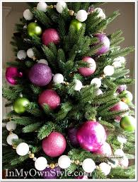 Decorated Styrofoam Balls How to Make a Snowball Christmas Tree Garland In My Own Style 89