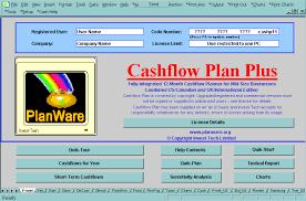 Cash Flow Calculation Excel Screen Shot Cashflow Plan Cash Flow Plan Cashflow Planner