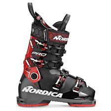 Ski Boots Nordica Pro Machine 110 Nero Rosso Bianco