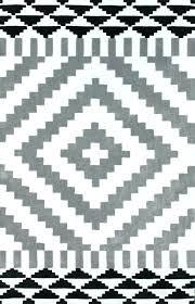 white geometric rug white and grey rug keno light gray area rug grey and white geometric