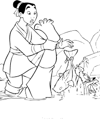 Small Picture Mulan Coloring Pages Pdf Coloring Coloring Pages