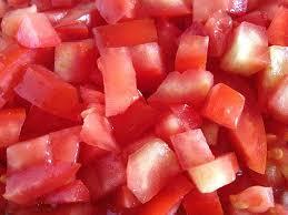 Resultado de imagem para tomates picados