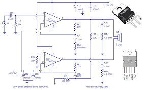 audio amplifier circuit diagram 30 watts 30 watts audio amplifier circuit diagram