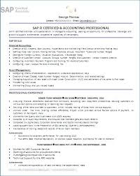Sap Abap Resume Sample Sap Sample Resume 3 Years Experience Lovely