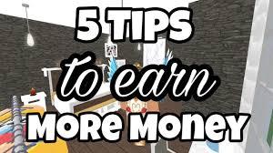 5 Tips To Help You Earn A Lot More Money In Bloxburg Bloxburg Jobs Roblox