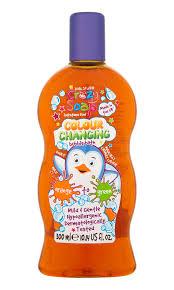 Волшебная <b>пена для ванны</b>, <b>меняющая</b> цвет из оранжевого в ...