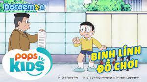 S7] Doraemon Tập 341 - Bộ Vẽ Mặt Người Gồm Xóa Và Bút Vẽ, Binh Lính Đồ Chơi  - Hoạt Hình Tiếng Việt
