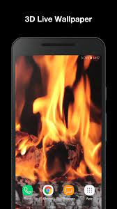 Real Fire Live Wallpaper for Android ...