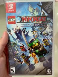 Brand New Nintendo Switch LEGO Ninjago Movie Game, Toys & Games, Video  Gaming, Video Games on Carousell