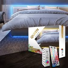 Image Underglow Homecrux Bed Lighting Kit Multicolor Led Accent Lights For Under Bed Headboards