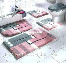 luxury bathroom rugs great luxury bathroom rug sets with bathroom rugs sets luxury bath rugs